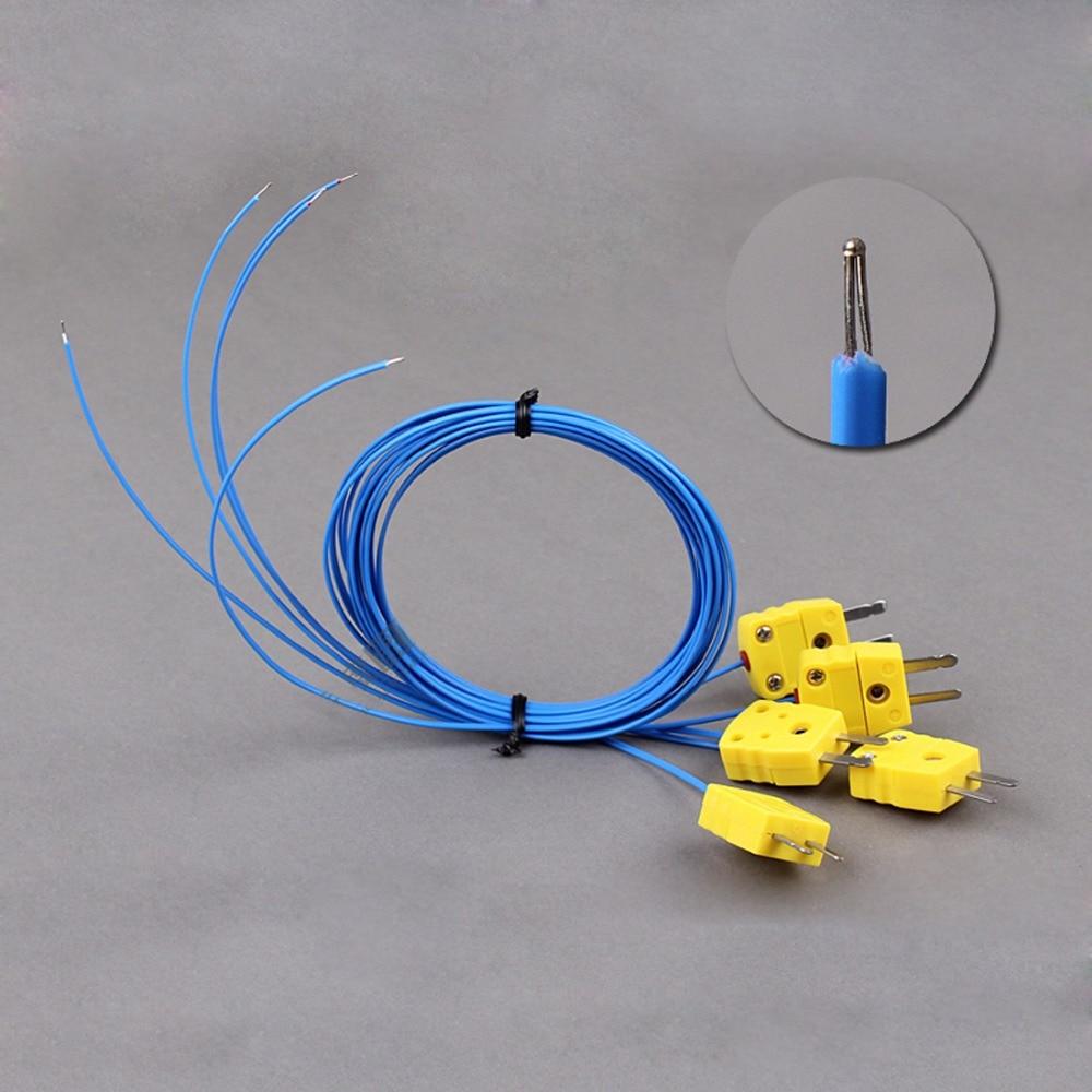 1pcs Universal thermocouple wire K series temperature testing wire ...