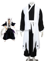 Zaraki Kenpachi Cool Bleach Cosplay Costume Kimono Sash Pants Gown