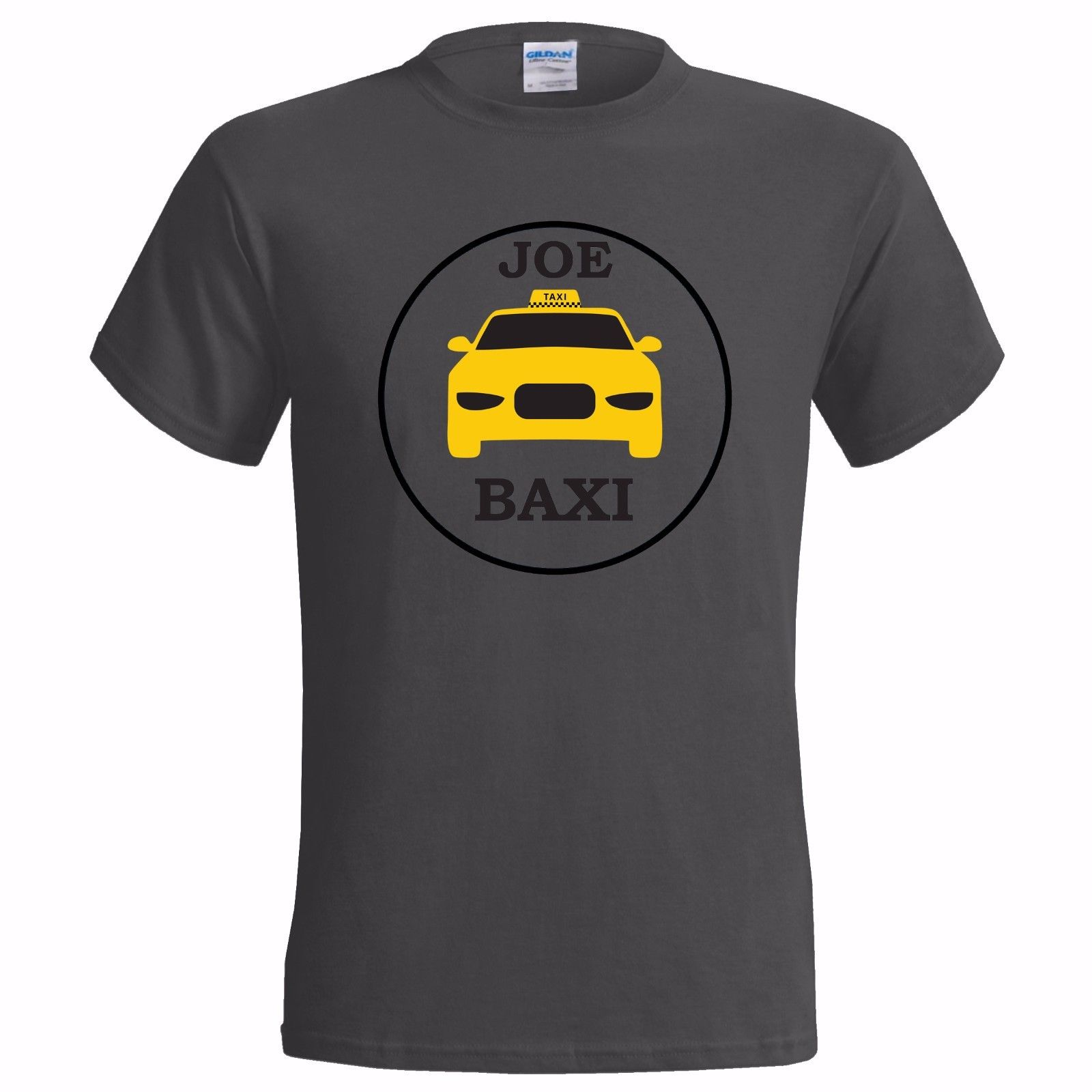 JOE BAXI LOGO MENS T SHIRT TAXI DRIVER JO YORKSHIRE LANCASHIRE NORTH NORTHERN 100 Cotton Short Sleeve O Neck Tops Tee Shirts in T Shirts from Men 39 s Clothing
