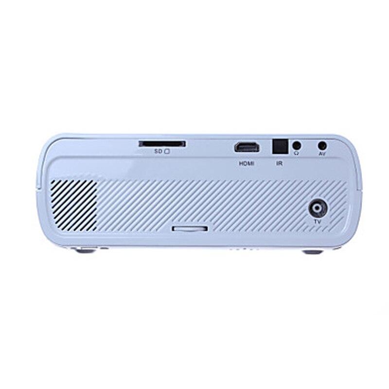 wzatco ctl80 1800lu портативный мини полный HD 1080 p для тв из светодиодов 3D проектор с Android 6.0 беспроводной умный театр дом proyector everyco