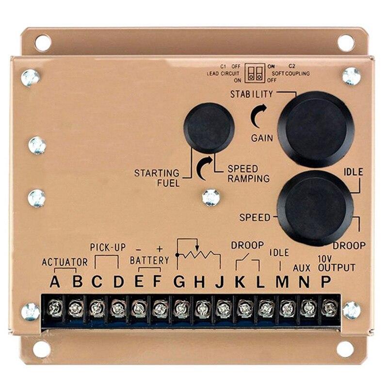 2018 New Type Generator Speed Controller Esd5500E Speed Controller Module Esd Speed Control Board2018 New Type Generator Speed Controller Esd5500E Speed Controller Module Esd Speed Control Board