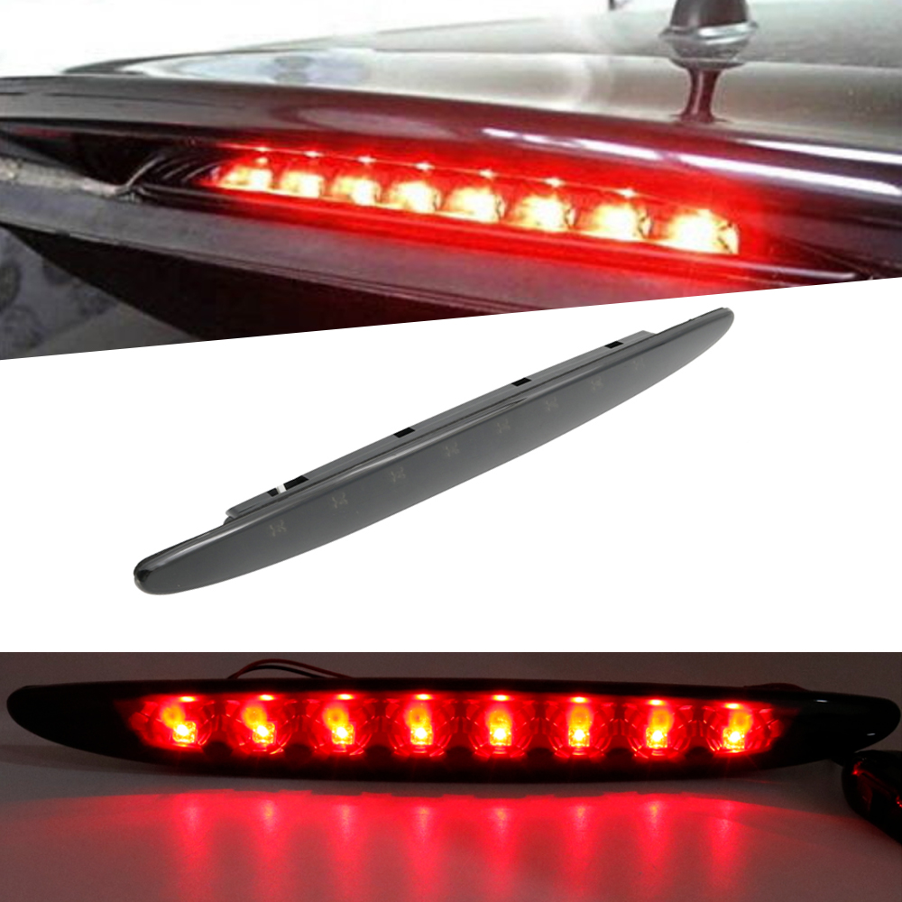 Smoke 8led High Mount Auto Led Tail Rear Brake Stop Warning Lamp Light Third 3rd