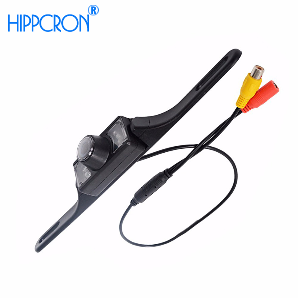 Waterproof Car Rear View Camera License Plate Frame Wire  Wireless HD Vehicle Backup Parking LED Night Vision 140 Degree CCD