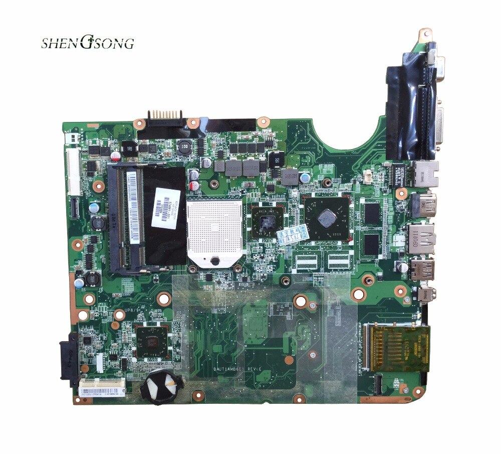 574681-001 Livraison Gratuite pour HP Pavilion DV7 DV7-3000 NOTEBOOK DAUT1AMB6E0 DAUT1AMB6E1 mère d'ordinateur portable M92 chipset 512 MB DDR2