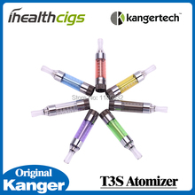 Original Kanger T3S Atomizer 2.5ml for Electronic Cigarette Changeable Bottom Coil Heating Atomizer for e cigarette 5pcs