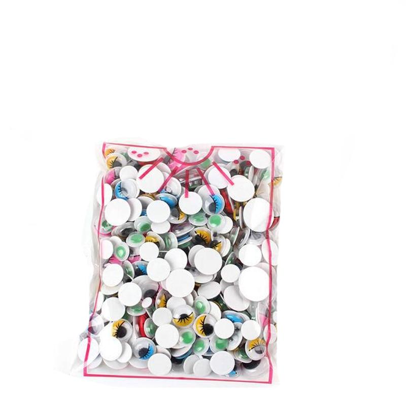 300 шт разные размеры черные защитные Глаза DIY Пластиковые сборные игрушки для кукол аксессуары плюшевая Мягкая кукла чашка украшение автомобиля - Цвет: 200pcs