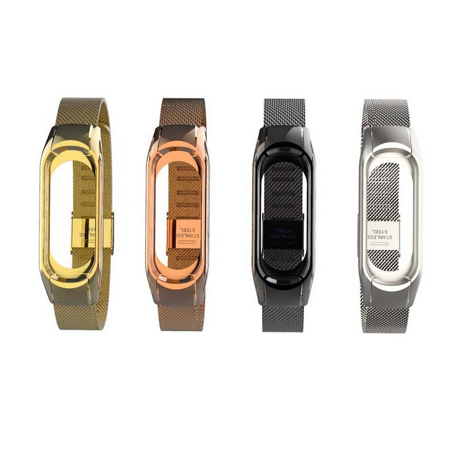 Strap Bracelet Mi-Band Stainless-Steel Xiaomi for 3 Screwless 100pcs