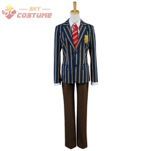 Uta no Prince-sama Class S Student Boy Uniform Jacket Shirt Pants Full Set Anime Halloween Party Cosplay Costumes For Men Custom