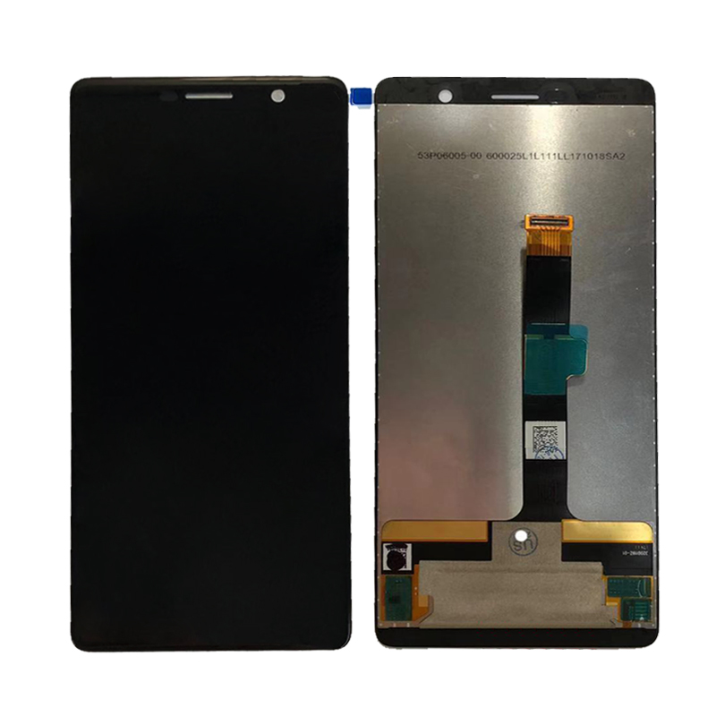 2pcs/Lot For Nokia 7 PLUS LCD Screen Display With Touch Digitizer Assembly Black Free Shipping2pcs/Lot For Nokia 7 PLUS LCD Screen Display With Touch Digitizer Assembly Black Free Shipping