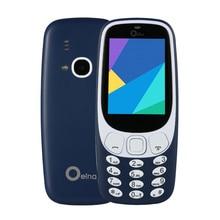 """Original OEINA XP3310 Estudiante Mini Teléfono 2.4 """"4SIM Tarjeta de 4 SIM de Teléfono de Banda Cuádruple Cuatro SIM Bluetooth MP3 MP4 FM Teléfono viejo"""