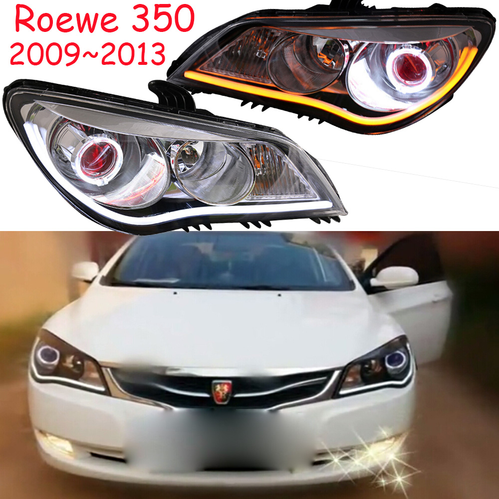 HID,car-styling,Roewe 350 head light,2009~2015,Free ship! Roewe 350 fog lamp,chrome,LED,Roewe 350 head lamp,RX5 750 W5 950 roewe headlight 550 2009 2013 fit for lhd and rhd free ship roewe fog light 2ps set 2pcs aozoom ballast roewe 550