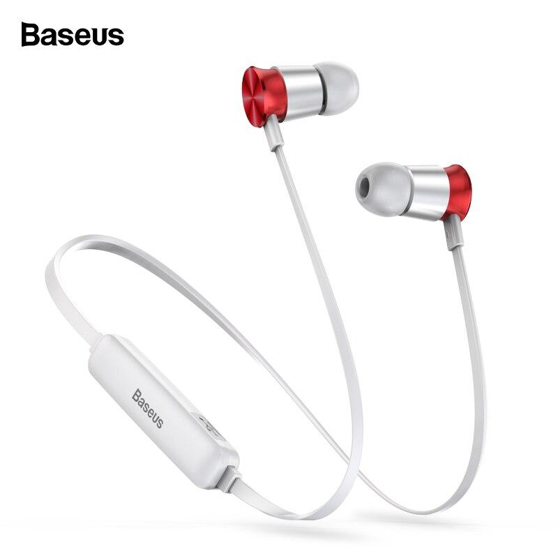 Baseus s07 neckband fone de ouvido sem fio bluetooth fone de ouvido fone estéreo auriculares esportes