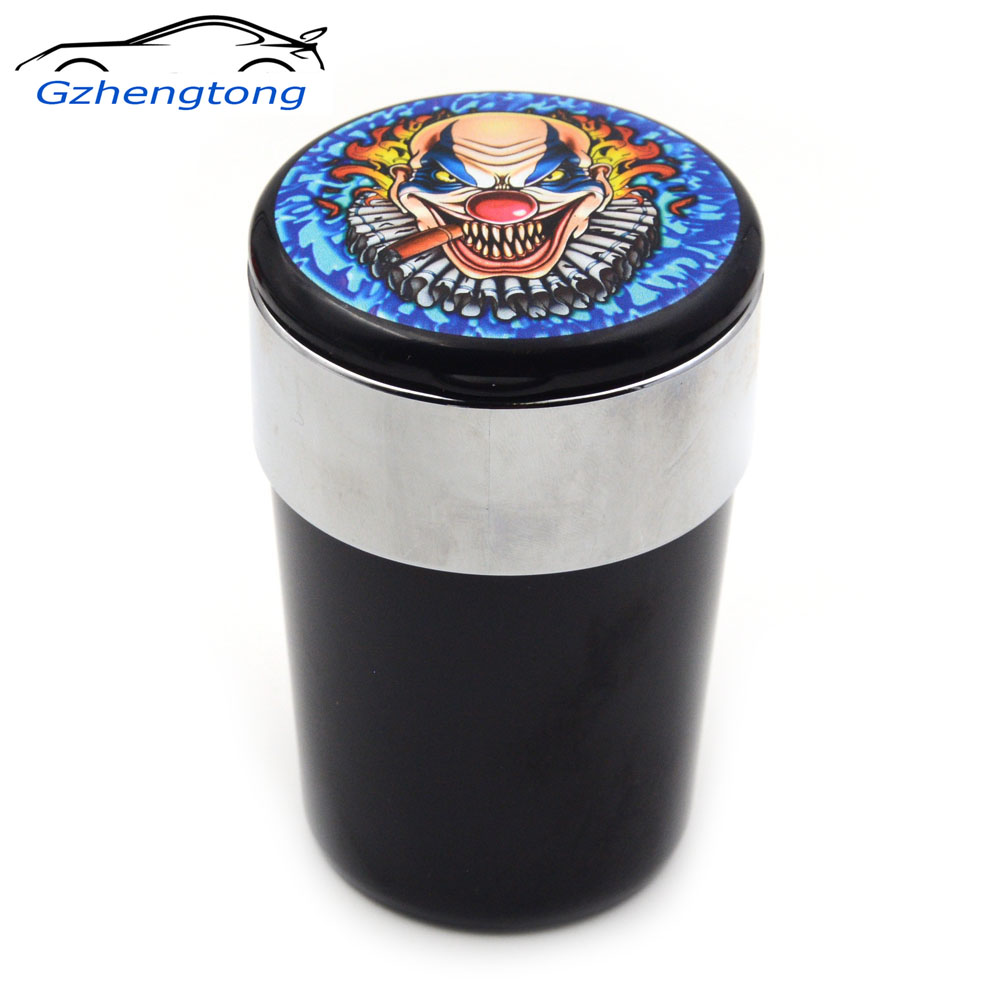 gzhengtong clown car ashtray cup cigarette smoking ash holder tobacco jar portable auto car. Black Bedroom Furniture Sets. Home Design Ideas
