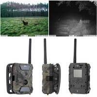 Skatolly S680M 12MP HD 2,0 LCD Digital explorando el juego IR Cámara LED cámara de caza salvaje SMS MMS GPRS IR LED grabadora XNC