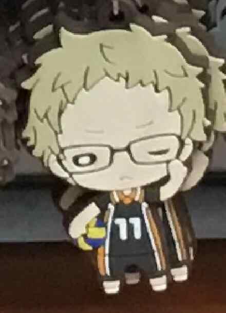 Haikyuu Anime portachiavi Oikawa Tooru Kozume Kenma Kuroo Tendo Satori Koutarou Hinata cinturino In Gomma/cinghia del telefono mobile D236