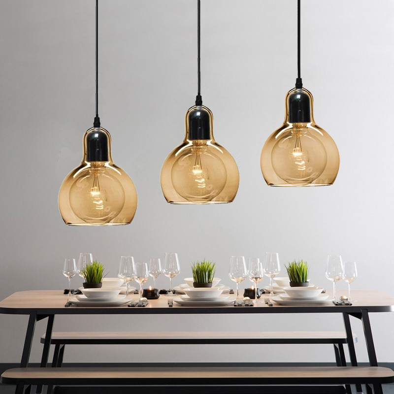 Kitche Modern Pendant Lights Amber Glass Pendant Lighting Fixtures Bedroom Hotel Pendant Light Bar Home Pendant Ceiling LampKitche Modern Pendant Lights Amber Glass Pendant Lighting Fixtures Bedroom Hotel Pendant Light Bar Home Pendant Ceiling Lamp