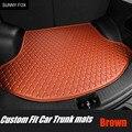 Индивидуальные автомобильные коврики для багажника для Audi A7 S7 6D Водонепроницаемый сверхмощный Идеальный Полный чехол для автомобиля-Стайл...