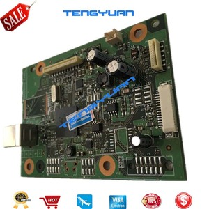 Image 3 - Free shipping 95% new original CE831 60001 for HP LaserJet Pro M1130 M1132 M1136 1132 1136 Formatter Board Printer parts on sale