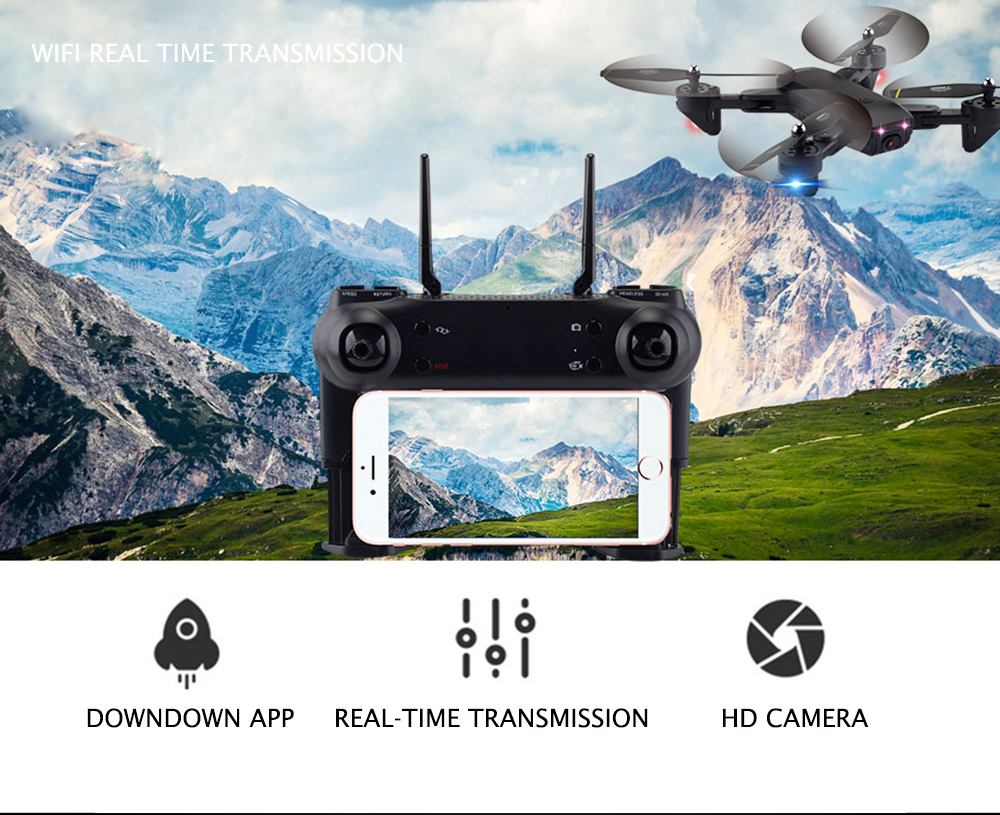 SG700 SG700S Drone With Camera 1080P/7P HD Full camera Dron RC Drone Professional Smart follow, gesture control VS S drone 4