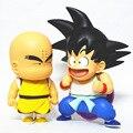 Anime Dragon Ball Z Goku Krilin Figura 2 unids/set Chilhood ver. PVC Juguetes Figuras de Acción Regalos de Navidad Colección Modelo