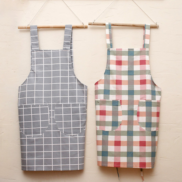 New Arrival 100 Cotton Fashion A For Chef Cooking Women S Kitchen Cleaning Tool Pinafore Delantal