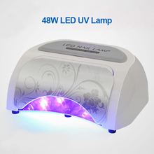 Professional 100-240V 48W LED UV Lamp  Nail  Dryer Very Fast Curing Nail Tools