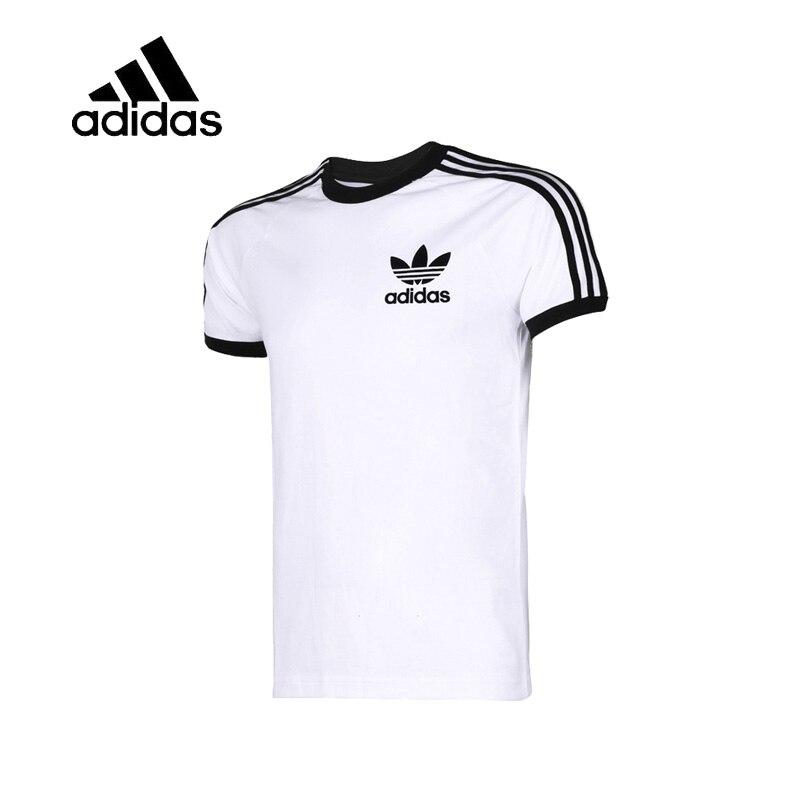 Galleria fotografica Original 2018 New Arrival Authentic <font><b>Adidas</b></font> Mens O-neck T-shirts Logo Short Sleeve Tops Sportswear Tees Breathable good CW1203