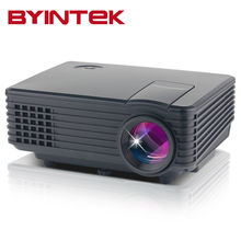 2017 marca byintek BT905 mini Home Theater Vídeo LCD Tv cinema piCO fULi hD 1080 P LED projetor projetor Portátil HDMI beamer(China (Mainland))