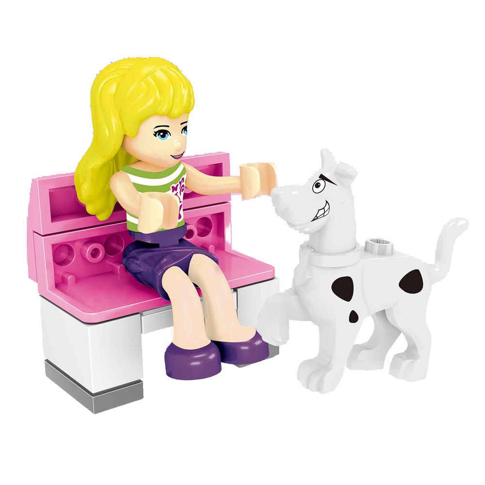 Legoing Bạn Bè Công Chúa Bé Gái Nhân Vật Câu Lạc Bộ Đảng với Đầm Đẹp Olivia Kate Dancet Andrea Khối Xây Dựng Đồ Chơi Búp Bê Legoings