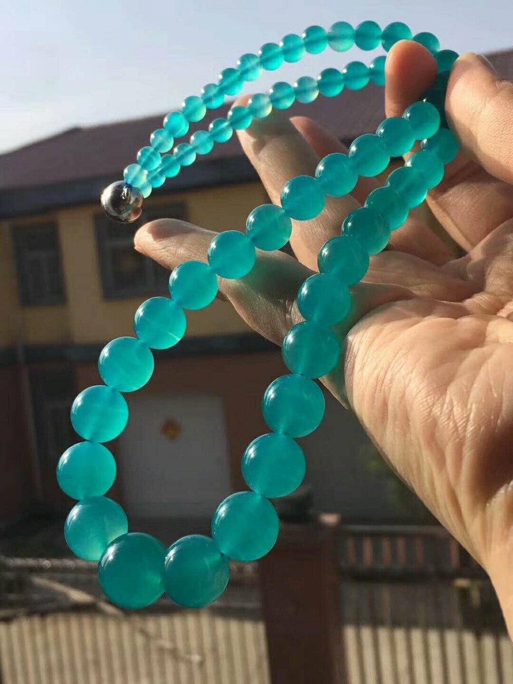 LiZiFang Natural Ice Rhodochrosite Gemstone Water Drop Bead Crystal Pendant Woman AAAA