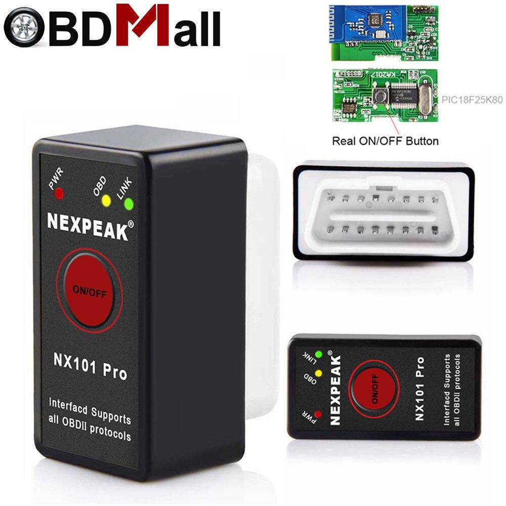 2019 Super Mini Elm327 Bluetooth V1.5 Chip Pic18f25k80 Auto Diagnose Werkzeug Elm327 Bluetooth V1.5 Auto Code Reader Für Android/ Pc Seien Sie Freundlich Im Gebrauch