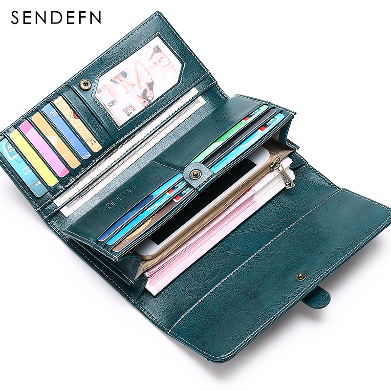 2018 New Wallets Brand Coin Purse Split Leather Women Wallet Purse Wallet Female Card Holder Long Lady Clutch Carteira Feminina стоимость