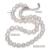 Daimi genuino barroco collar de perlas, Collar de moda Para Todos Los Días, nueva Bijouterie Joyería 9-10mm, Collar de gargantilla