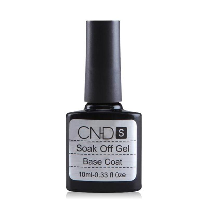 2017 New Nail Gel Polish Soak UV Top Coat + Base Coat Gel Polish Long-lasting 10ml Nail Gel Lacquer Top Quality