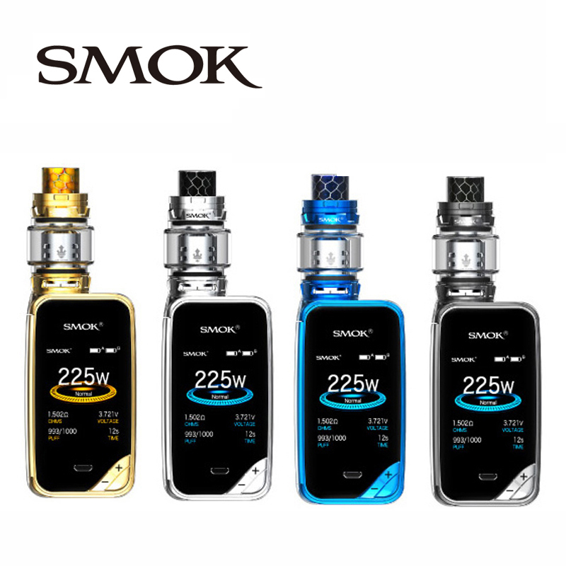 Kit Original SMOK x-priv avec vaporisateur de réservoir 8 ml TFV12 Prince 225 W X priv Mod Kit Cigarette électronique SMOK VAPE VS g-priv 2