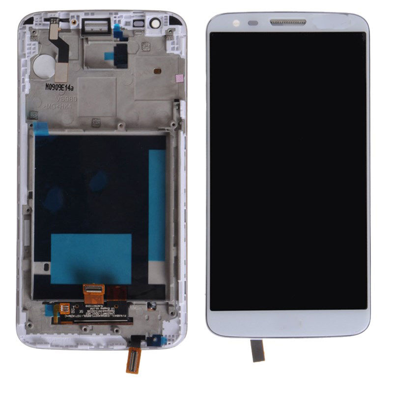 New LCD Display Touch Screen Digitizer Assembly For LG Optimus G2 VS980 with frame Free Shipping new lcd touch screen digitizer with frame assembly for lg google nexus 5 d820 d821 free shipping