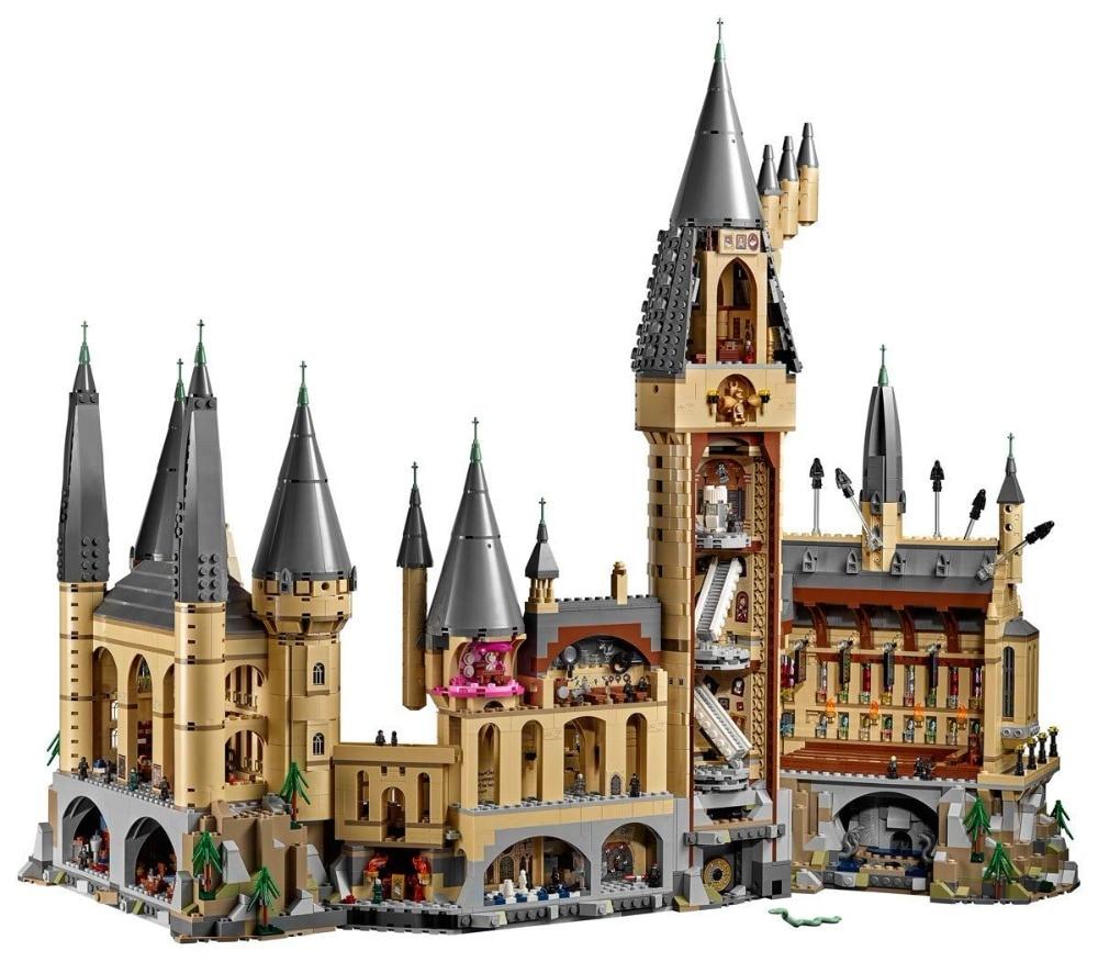 Lepin 16060 6742 pcs Harry Potter Magique Poudlard Château L'école Compatible Legoing 71043 Kit Building Blocks Briques Jouet Modèle