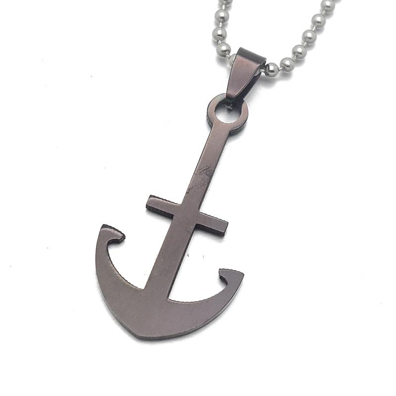 Anchors Custom Guitar Pick Pendant Necklace Keychain