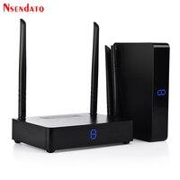 Measy HD585 5,8 ГГц 350 м/1150 футов HDMI Беспроводной AV аудио видео передатчик Отправитель Получатель адаптер для ПК ТВ коробка DVD проектор