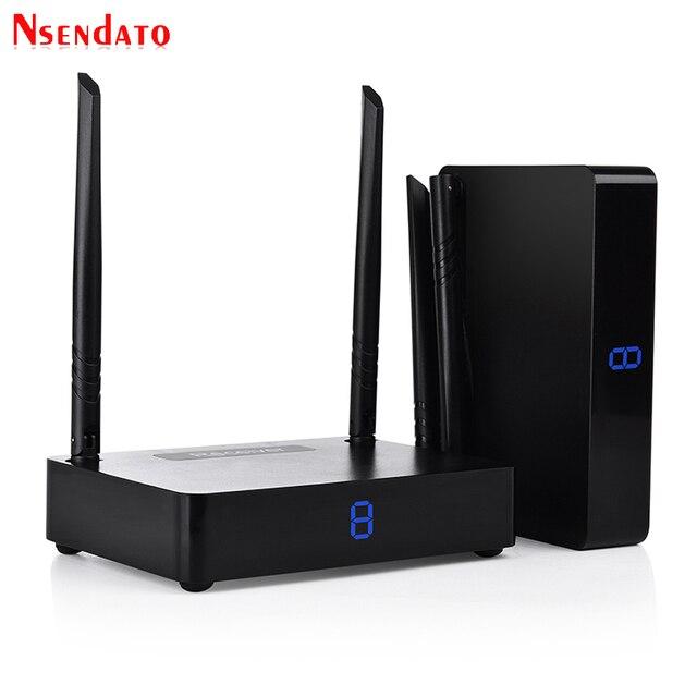 measy hd585  Measy HD585 5.8GHz 350M/1150 Feet HDMI Wireless AV Video Audio ...