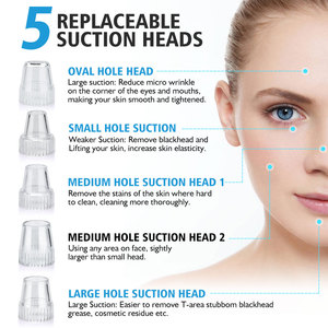 Image 2 - Blackhead Electric Cleanser Removal Face Clean Nose T Zone Pore Vacuum Acne Pimple Vacuum Remover Suction Facial Dermabrasion