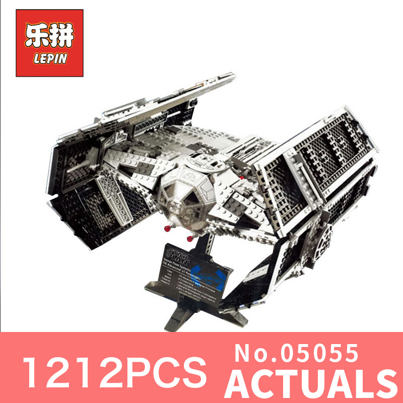 Lepin 05055 star wars the force awakens Vader's TIE Toys For Boys Model Building Kits Blocks LegoINGlys 75103 children gifts r2d2 robot bb8 xinh206 single sale building blocks star wars 7 the force awakens toys for children