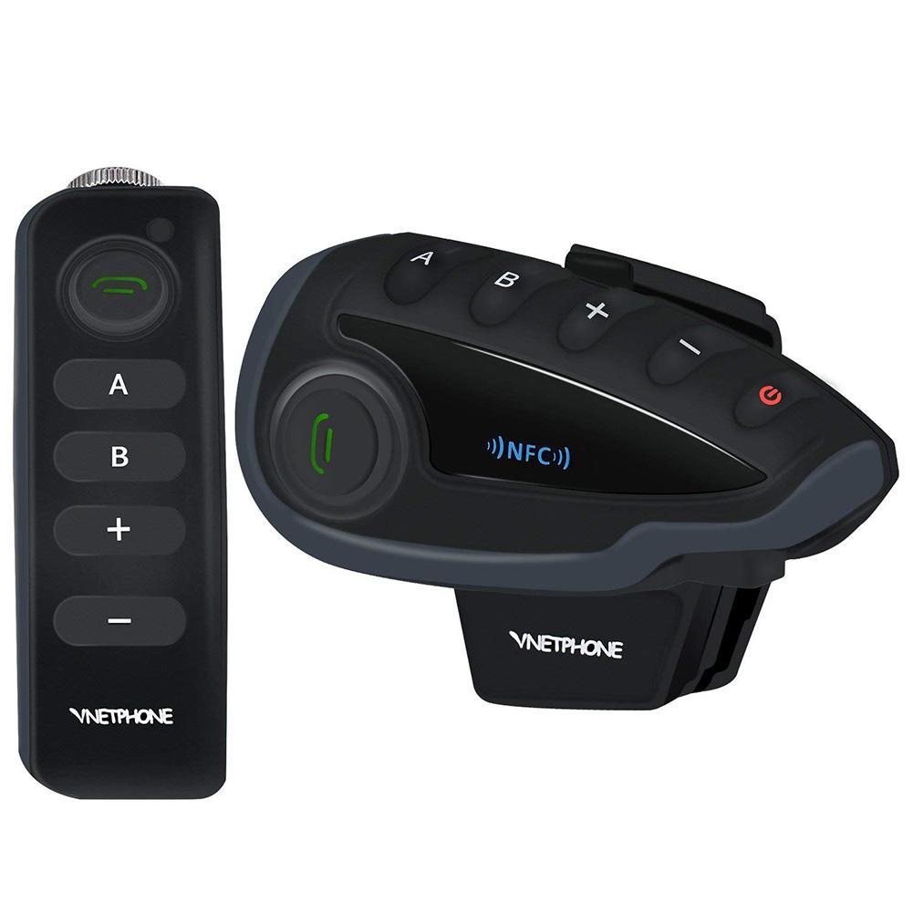 V8 casque de moto en Duplex Bluetooth interphone écouteur soutien 5 utilisateurs de bonne qualité