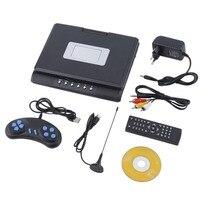 LESHP Portable 9 Inch TFT LCD Screen Mobile DVD Player Digital Multimedia Player 270 Degree Rotation Screen EVD Player FJD 998