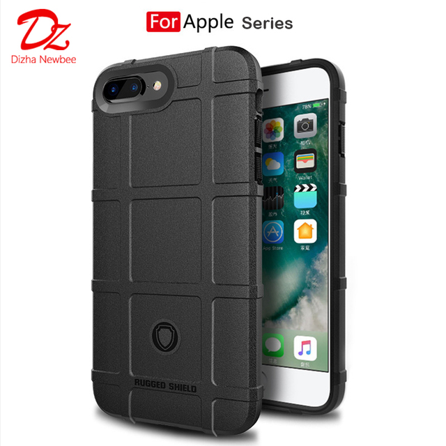 Funda de teléfono móvil para iphone 6 6s 7 8 plus funda protectora de silicona TPU funda blanda protectora resistente para iphone x 10