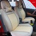 Nuevo coche de fundas de tela de poliéster cubierta de cinco asientos de coche asiento de coche cubierta de asiento universal fit car protector accesorios interiores