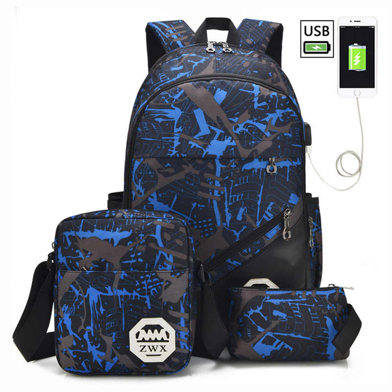 Big Capacity School Backpack School Bags For Teenagers Boys Girls Children Schoolbag Waterproof Backpack Kids Mochila Escolar