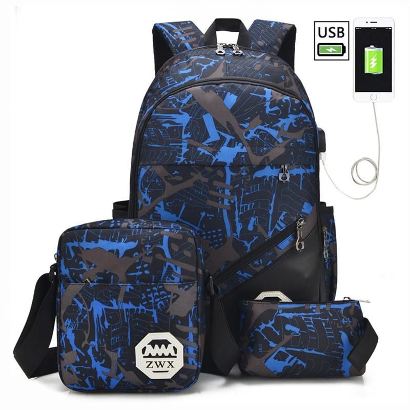Big Capacity School Backpack School Bags For Teenagers Boys Girls Children Schoolbag Waterproof Backpack Kids Mochila Escolar