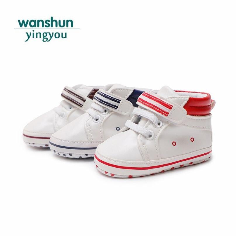 Baby boy girls shoes newborn moccasins crib shoes brand toddler footwear PU soft sole Good quality bebe Sneaker Spring Anti-slip
