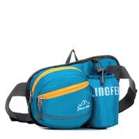 Unisex Outdoor Sport Waterproof Nylon Waist Bag Marathon Running Pack Belt Inclined Shoulder Gym Fitness Cases For Phone Key